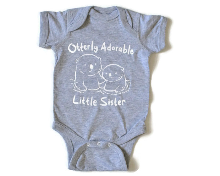 Adorable little sister onesie | Momo and Sammy Clothing Co.