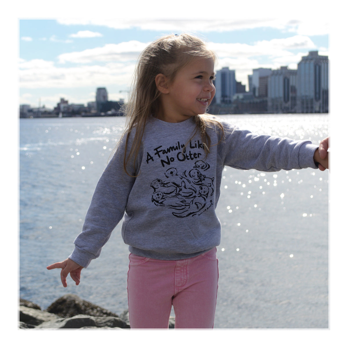 Family Kids Sweater | Momo and Sammy Clothing Co