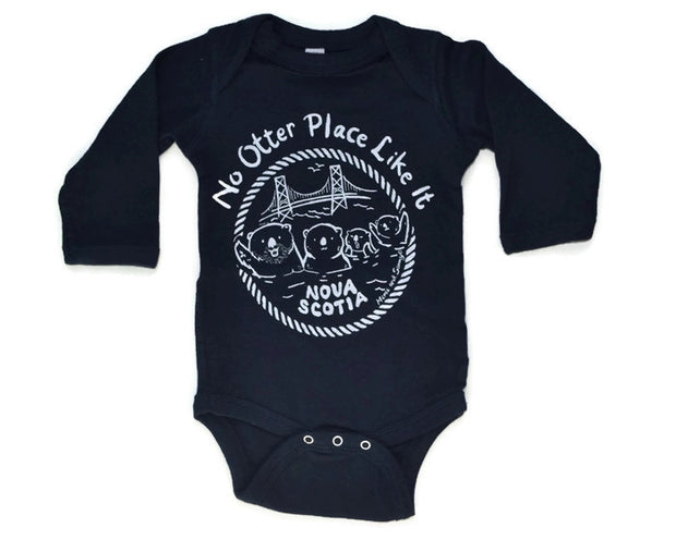 Nova Scotia baby onesie | Momo and Sammy Clothing Co