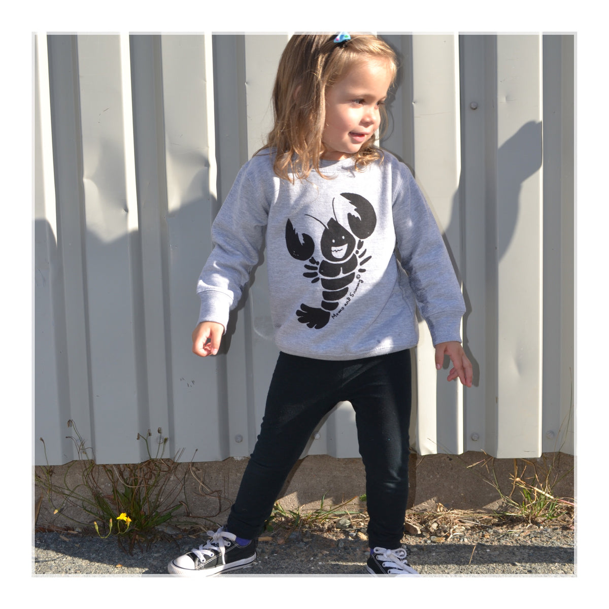 Fun Lobster Kids Sweater | Momo and Sammy Clothing Co.