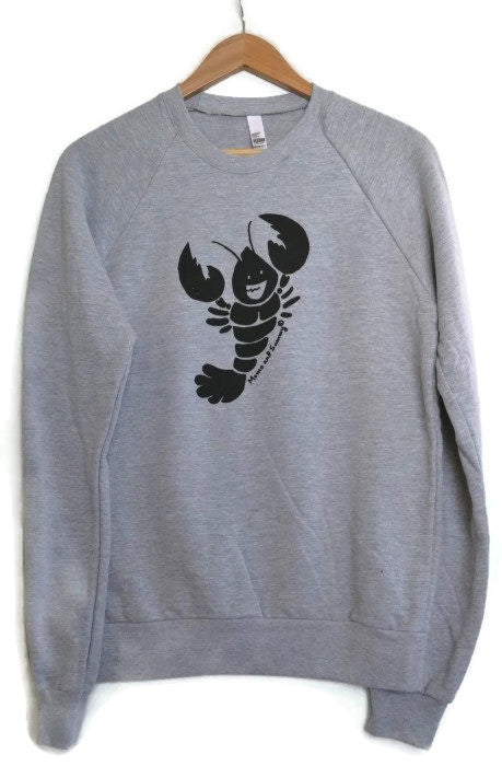 Fun Lobster Adult Sweater | Momo and Sammy Clothing Co.