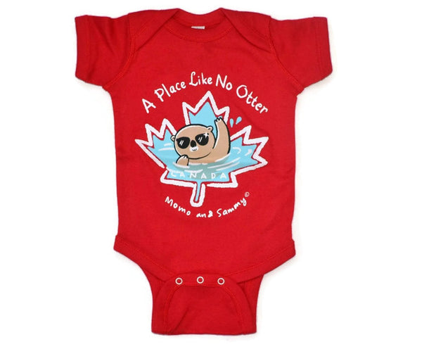 Canada Themed Baby Onesie - Perfect for Canada's 150th Birthday