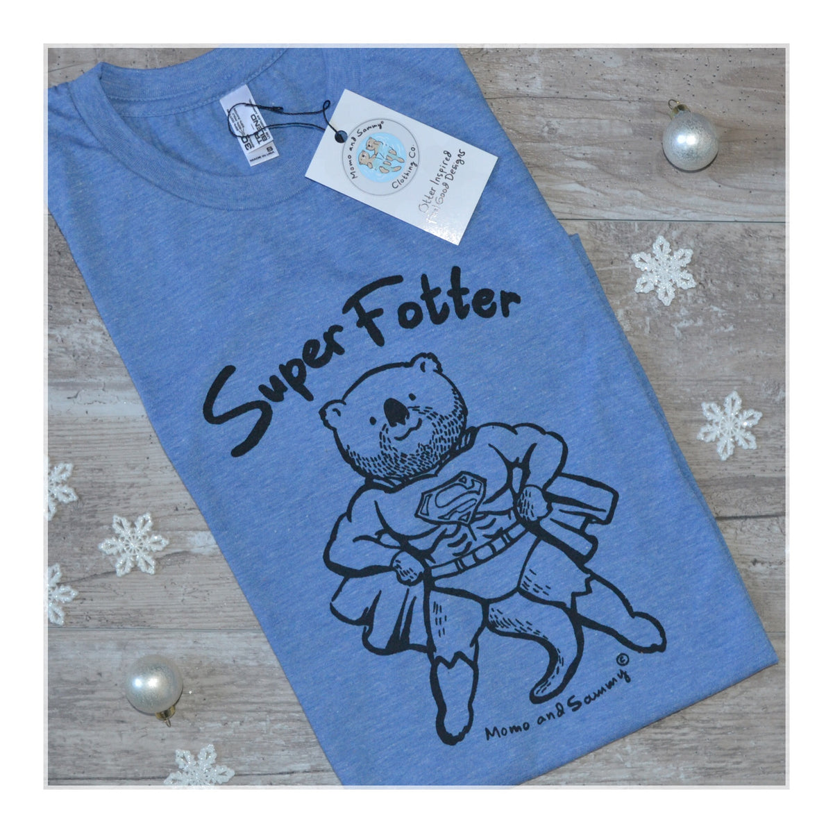 Super Father - men's adult tee | Momo and Sammy Clothing Co.