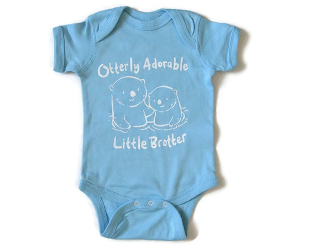 Adorable little brother onesie | Momo and Sammy Clothing Co.