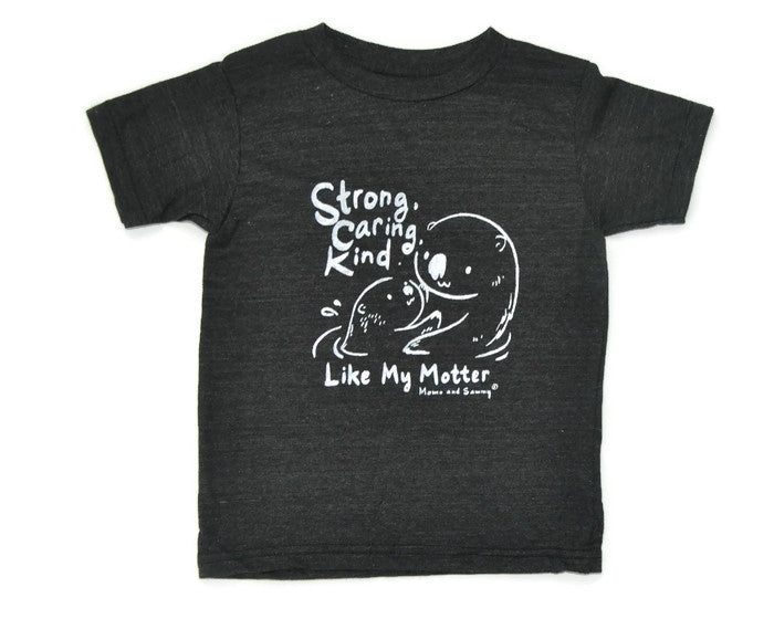 Strong, Caring, Kind - Modern Kids Tee | Momo and Sammy Clothing Co.