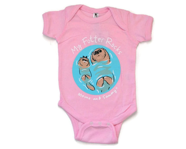Cute baby onesie.  For fathers.   Momo and Sammy clothing co.