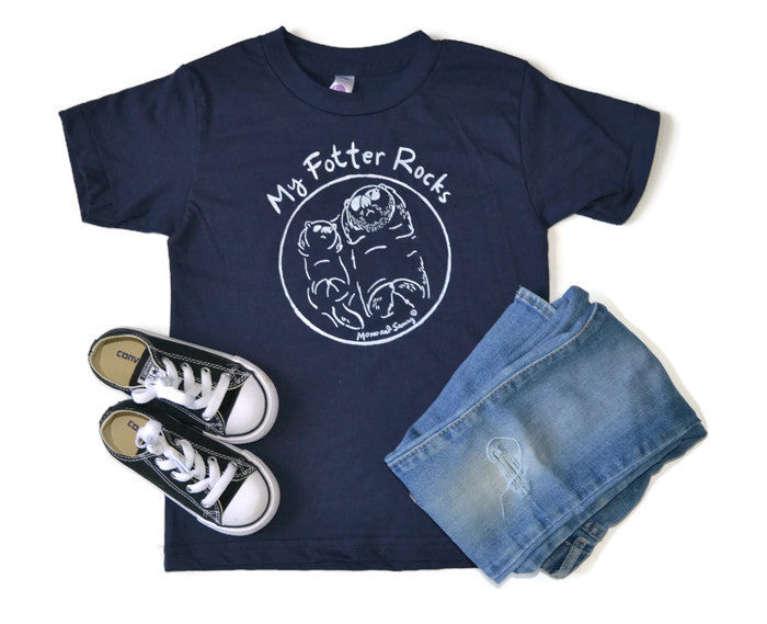 Modern Unisex Kids Tee - Father's Day