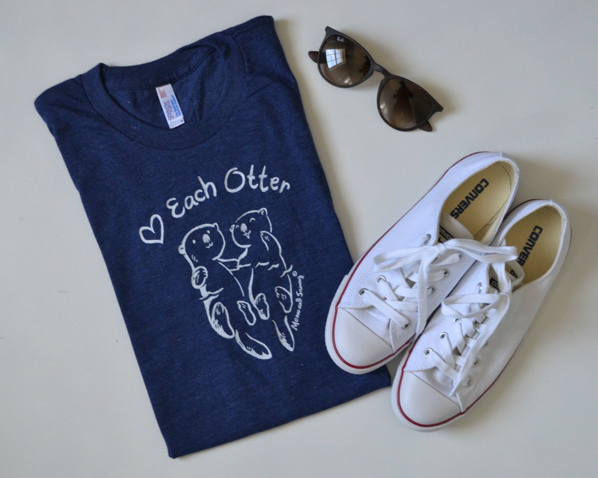Love Each Otter - Matching Tees
