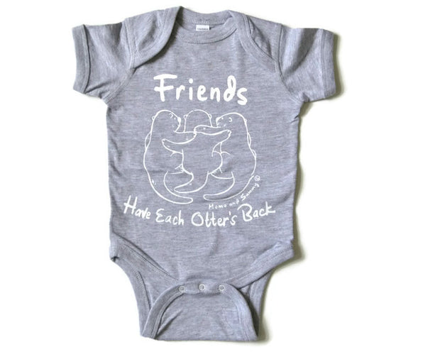 Friends Themed onesie |. Momo and Sammy Clothing Co.