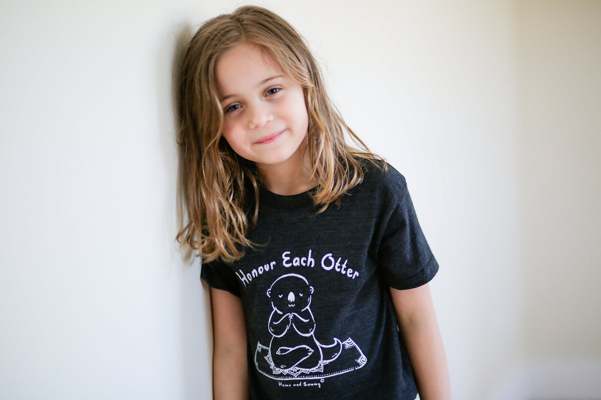 Awesome yoga Kids Tee || Momo and Sammy Clothing Co.