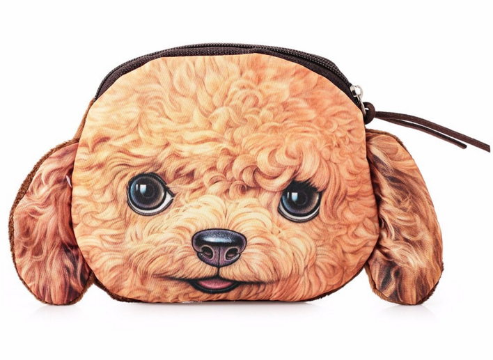 Large Coin Purse Toy Poodle