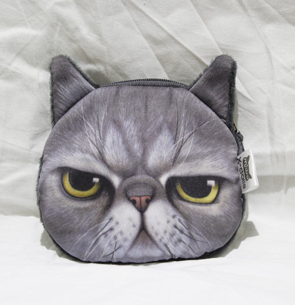 Coin purse-3d cat group3