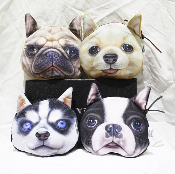 Coin purse-3d Dog group1