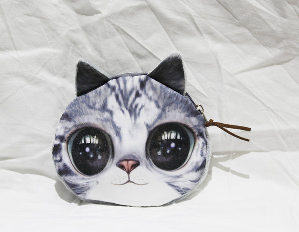 Coin purse-3d cat group4