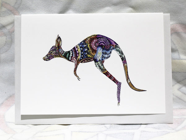 Greeting cards-Kangaroo