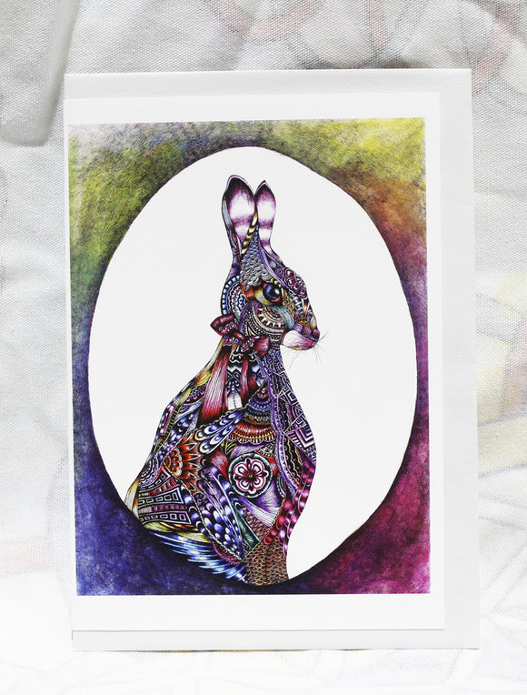 Greeting cards-Easter Rabbit