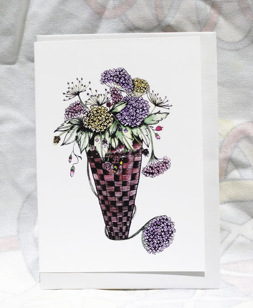 Greeting cards-Flowers