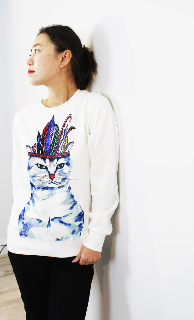 Sold-ACC jumper-Chef cat