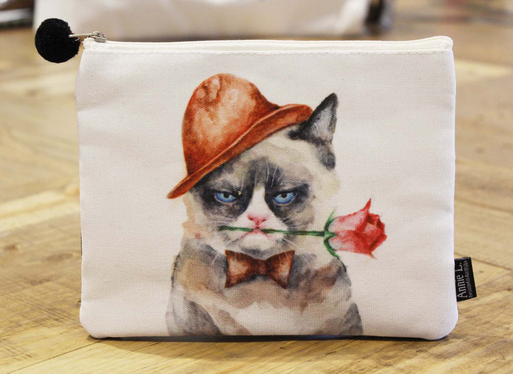 Canvas purse-Grumpy Cat