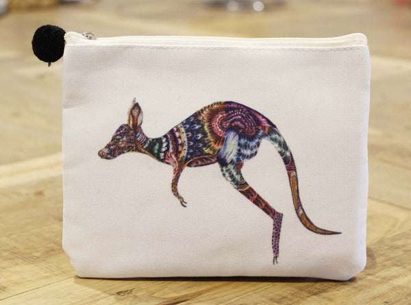 Canvas purse-Kangaroo