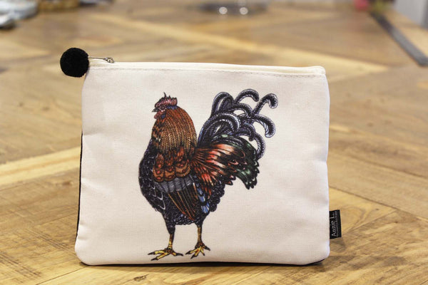 Canvas purse-Rooster