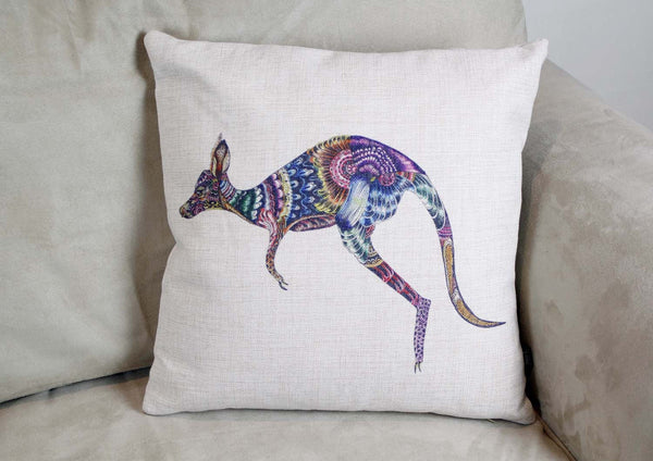 Cushion Cover-Kangaroo
