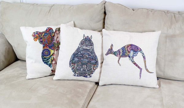 Cushion & Cover-Kangaroo