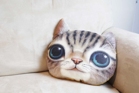Cushion-3D Sweat cat