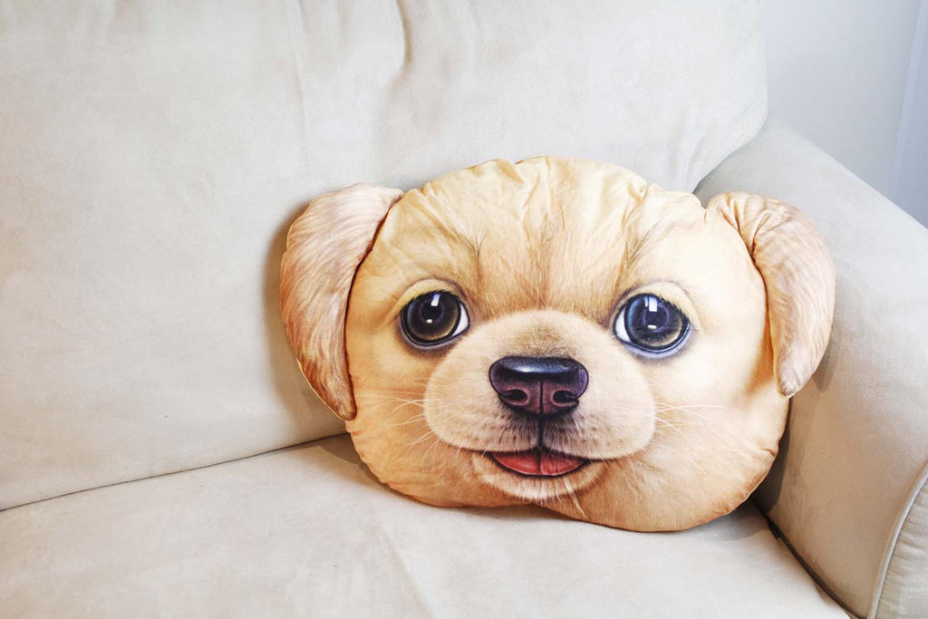 Cushion-3D Golden Retriever