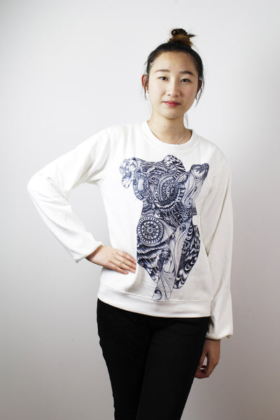 Sold-ACC Jumper-Black & white Kaola