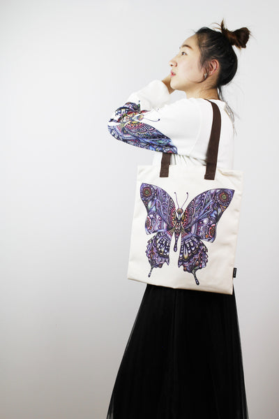 Tote bag-butterfly