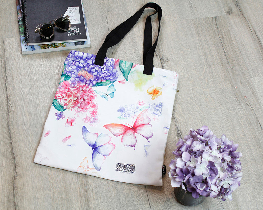 Tote bag-Fancy Butterfly
