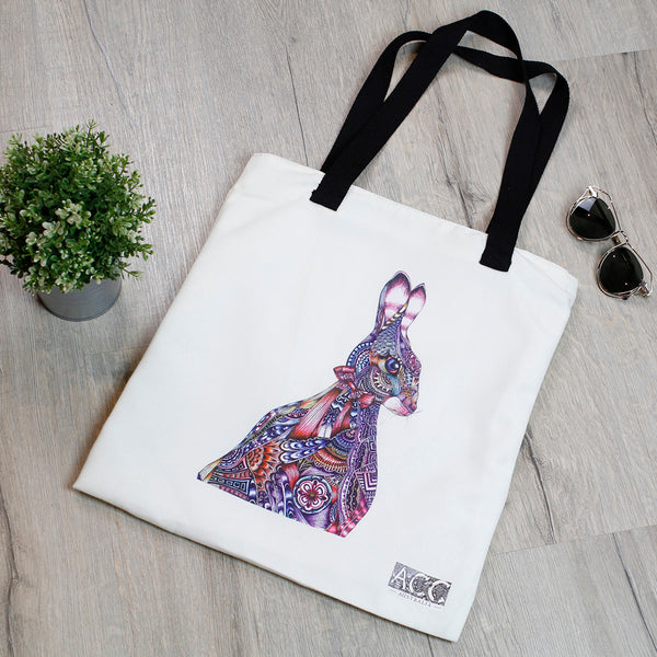 Tote Bag-Rabbit