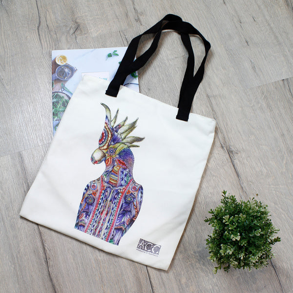 Tote bag-Cockatoo