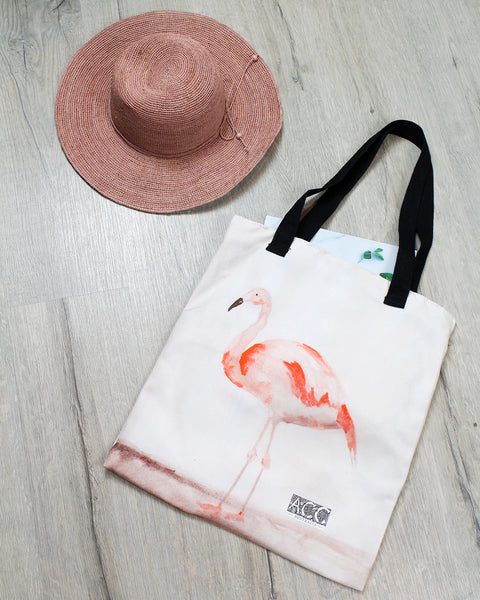 Tote bag-Flamingo