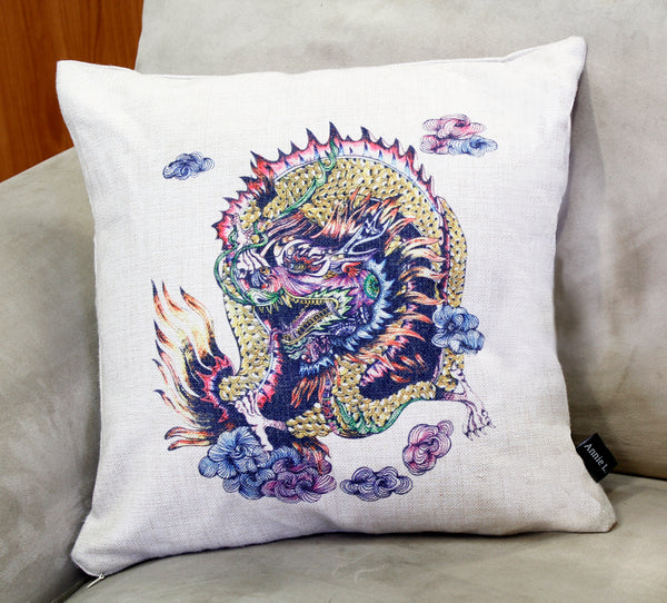 Cushion & Cover-Dragon