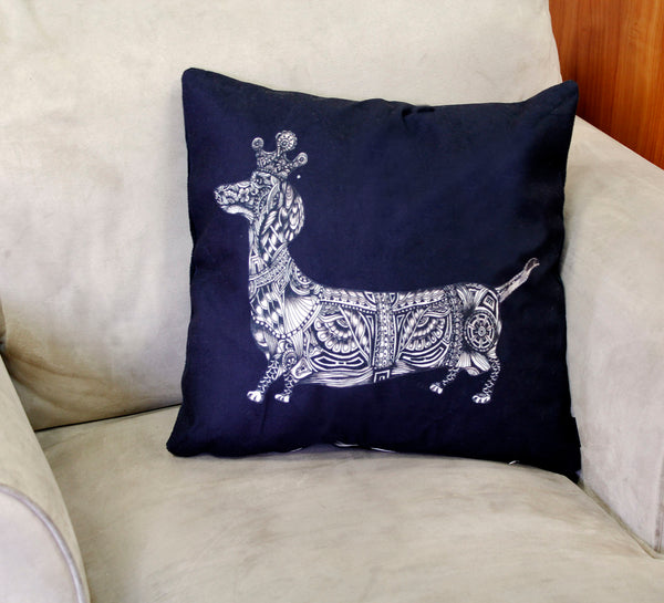 Cushion & Cover-Sausage dog