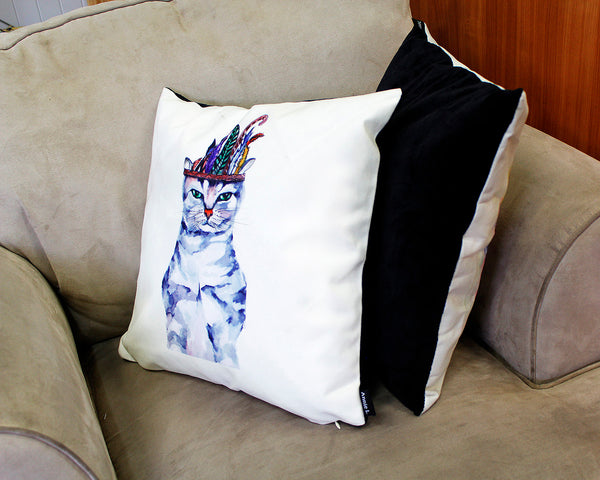 Cushion & cover-Chef cat