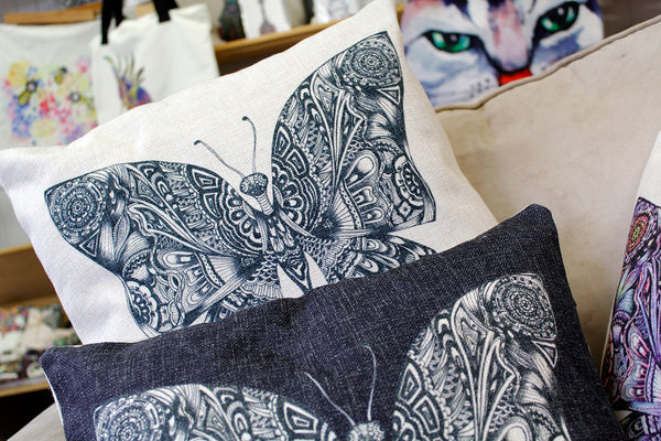 Cushion & Cover-Butterfly