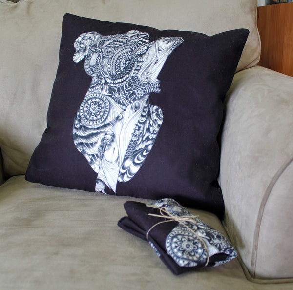 Cushion & Cover-Kaola