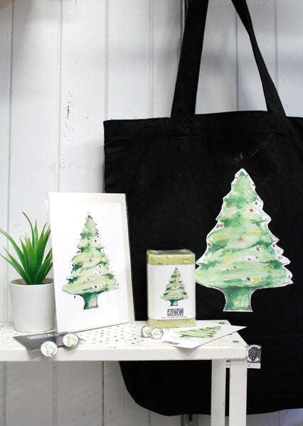 Greeting cards-XMAS Tree