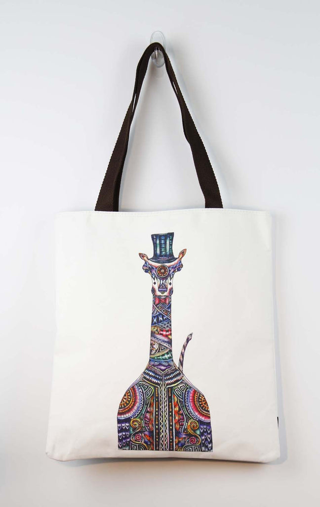 Tote bag-Groom Giraffe