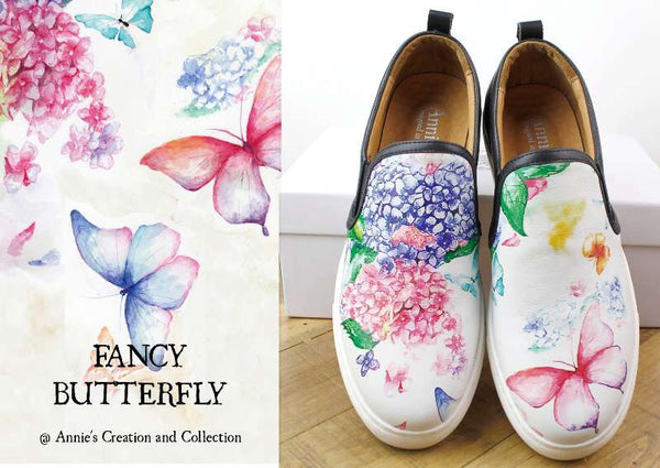 Leather shoes- Fancy Butterfly