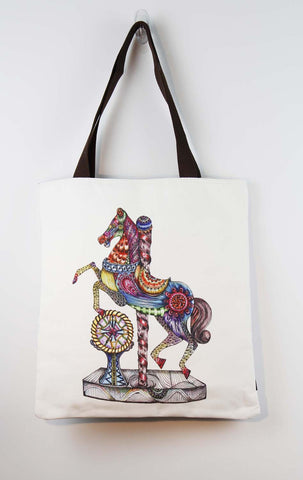 Tote bag- Rocking horse