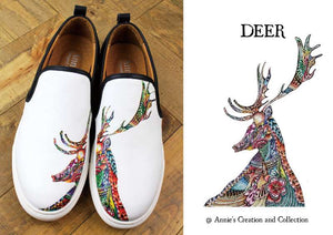 Leather shoes-Deer