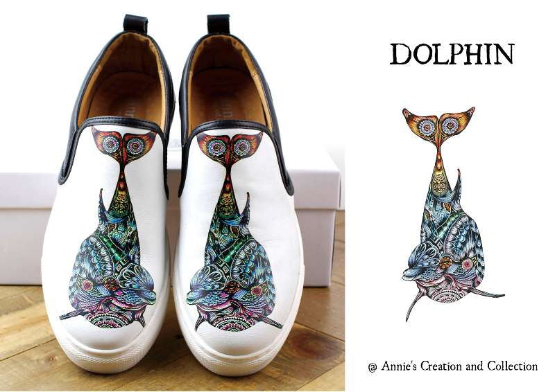 Leather shoes- Dolphin