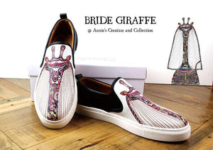 Leather shoes-Mrs Giraffe