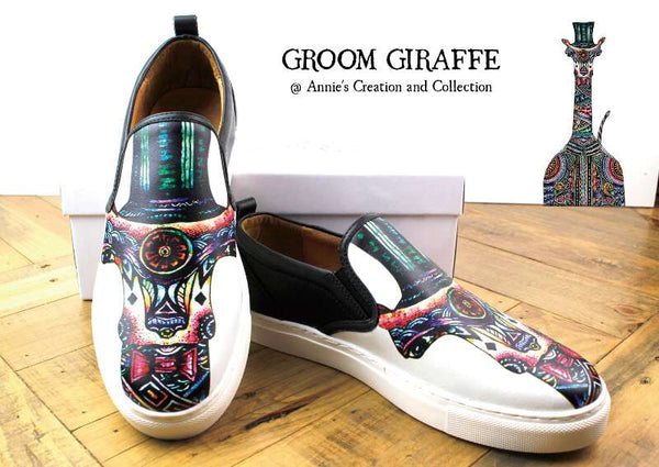 Leather shoes-Mr Giraffe