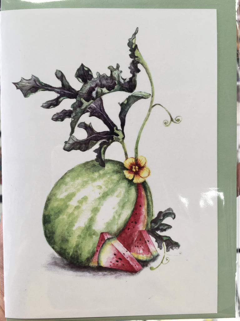 Greeting cards-Watermelon