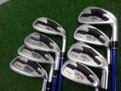 2014 CALLAWAY APEX JAPAN JP MODEL 8PC R-FLEX IRONS SET GOLF CLUBS